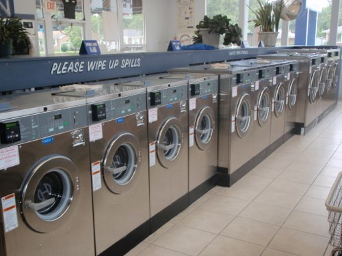 New, energy efficient, front loading washers - credit cards accepted!