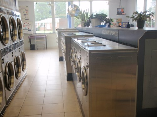 Plenty of machines available | Portsmouth Coin Laundry
