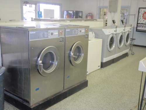 Multiple sizes of front load washers available
