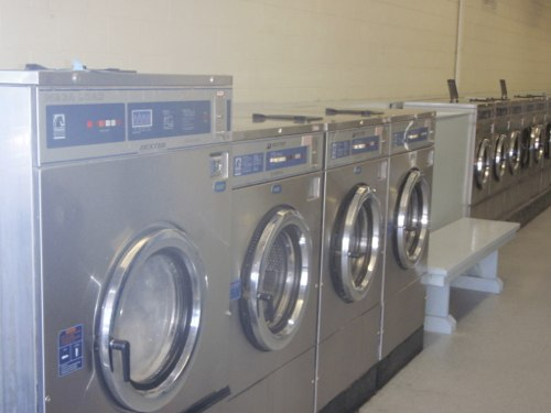 Medium, large, and extra large front loading washers are fast and efficient