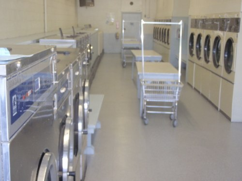 Plenty of front load washers and efficient dryers