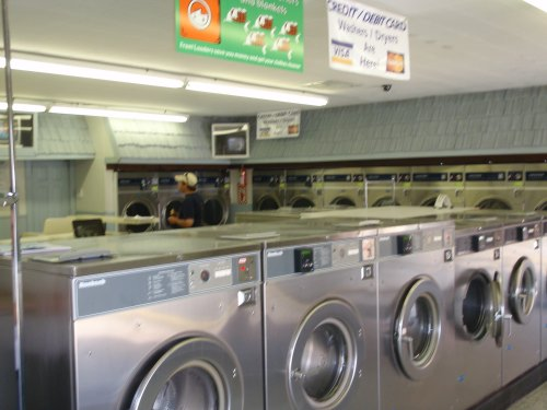 Large load washers and front load washers available