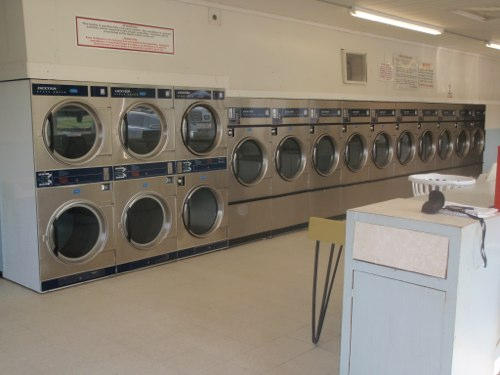 Lots of dryers | Brookneal Coin Laundry Laundry Land Laundromats