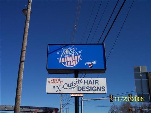 Laundry Land Laundromat on N. Main St. Ext. in Danville, VA