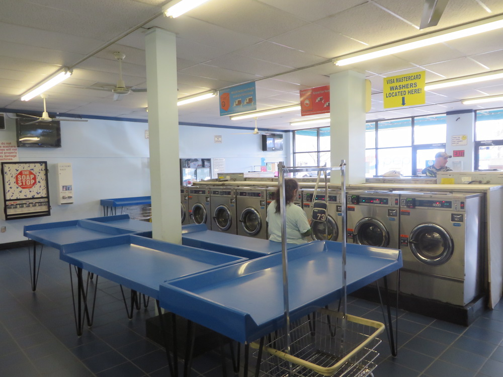 Durham Laundry Land Laundromat is bright and clean with new washers and dryers