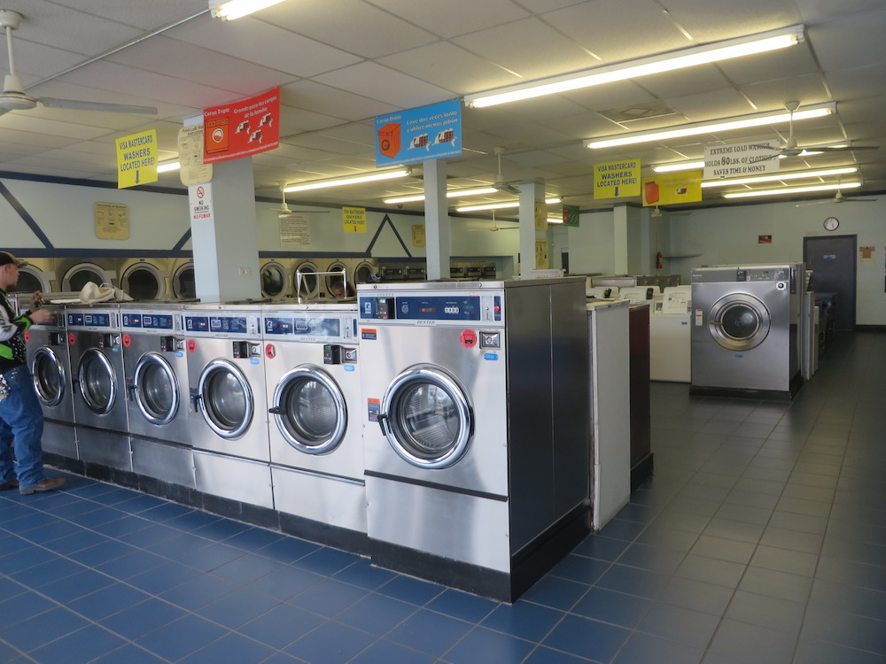 Plenty of sizes of washers to choose from