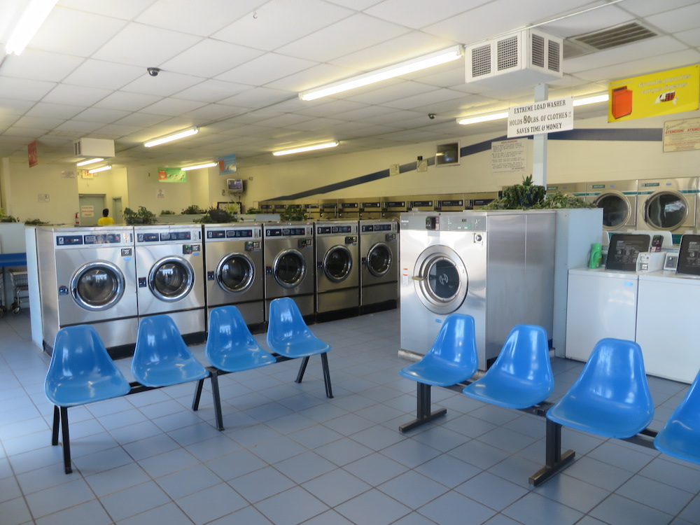 Bright and clean location with new washers and dryers and spacious waiting area.