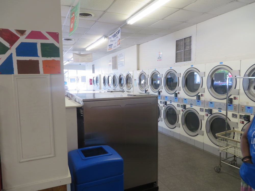 Plenty of dryers available | Colley Ave Coin Laundry in Norfolk, VA