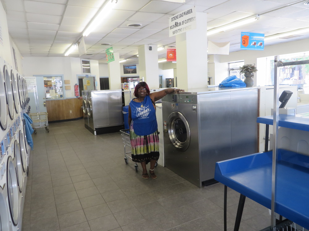 Big load washers available and attendant on site | Colley Ave Coin Laundry