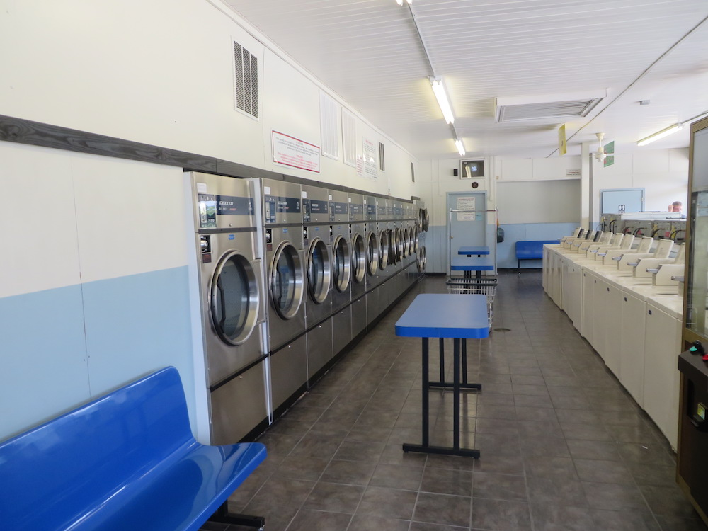 New, energy efficient dryers and top loading washers | Lovingston Laundromat