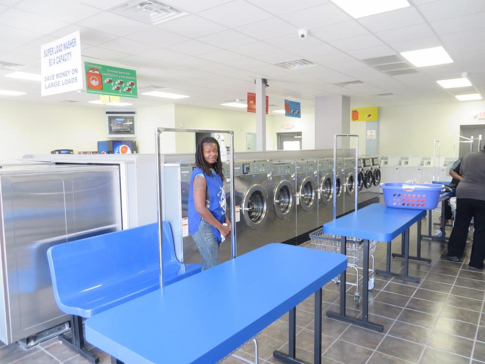Laundry Land attendant on site. Brand new front load, high efficiency washers