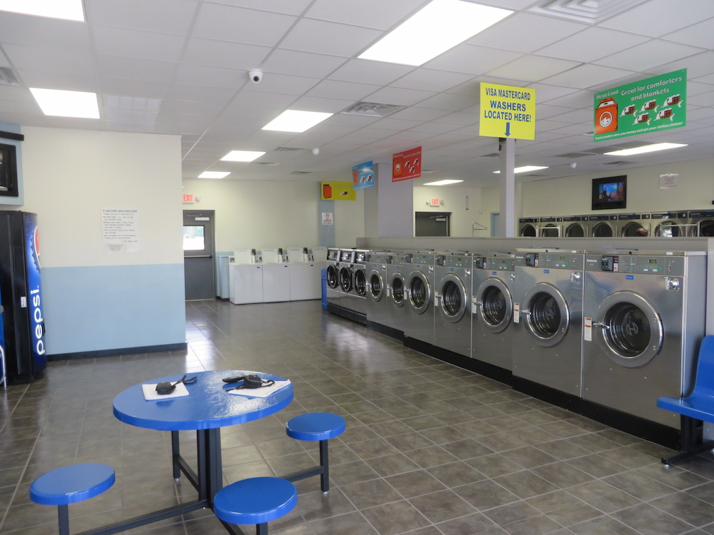 Newest and nicest laundromat in Greenville!